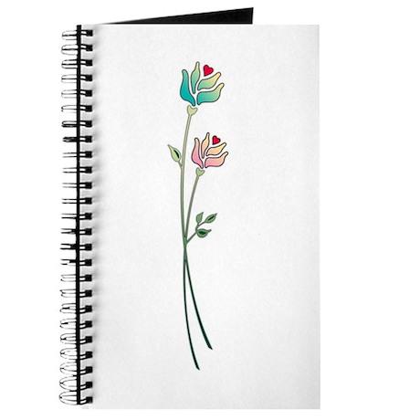 Floral Art Pastel Design Journal