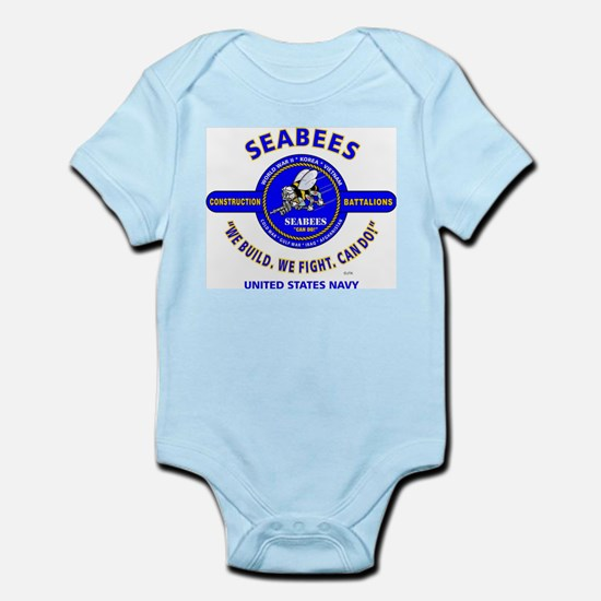 "SEABEES UNITED STATES NAVY ""WE BUILD, WE Body Suit"