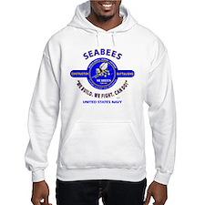 """SEABEES UNITED STATES NAVY """"WE B Hoodie"""