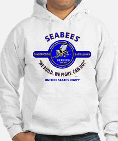 "SEABEES UNITED STATES NAVY ""WE B Hoodie"