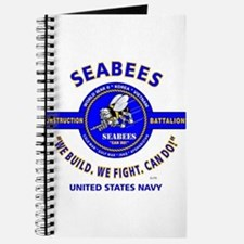 "SEABEES UNITED STATES NAVY ""WE BUILD, WE F Journal"