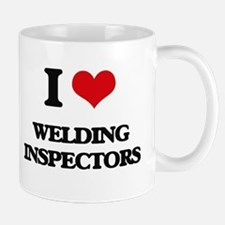 I love Welding Inspectors Mugs
