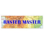 RASTER MASTER - bumper stickers