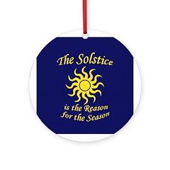 Solstice: Reason for Season Ornament
