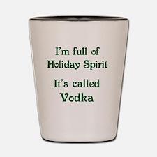 Funny Holiday Spirit Shot Glass