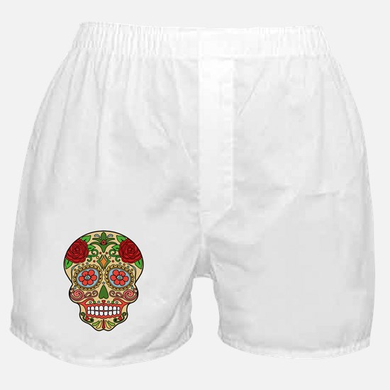 Cute Sugar skull Boxer Shorts
