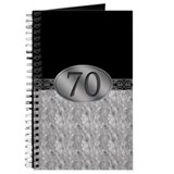 70th birthday Journals & Spiral Notebooks