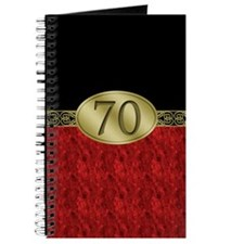 70th Birthday Journal