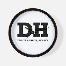 Dutch Harbor, Alaska Wall Clock