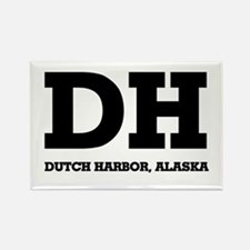 Dutch Harbor, Alaska Rectangle Magnet