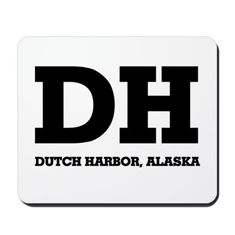 Dutch Harbor, Alaska Mousepad