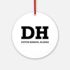 Dutch Harbor, Alaska Ornament (Round)
