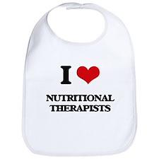 I love Nutritional Therapists Bib