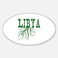 Libya Roots Sticker (Oval)