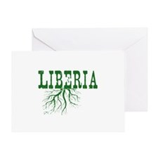 Liberia Roots Greeting Card