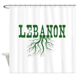 Beirut Shower Curtains