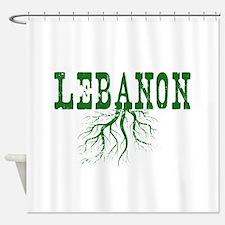 lebanon roots shower curtain