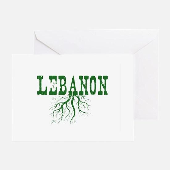 Lebanon Roots Greeting Card