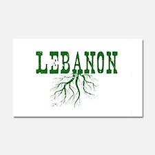 Lebanon Roots Car Magnet 20 x 12