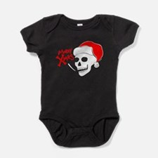 Santa Skull Baby Bodysuit