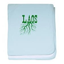 Laos Roots baby blanket