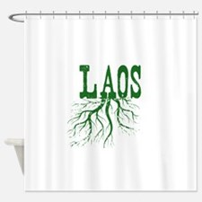 Laos Roots Shower Curtain
