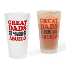 Promoted To Abuelo Drinkware Drinking Glass