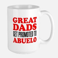 Promoted To Abuelo Drinkware Mugs