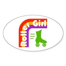 Roller Girl Decal