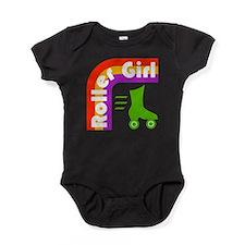Roller Girl Baby Bodysuit