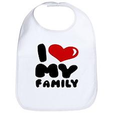 I love my Family Bib