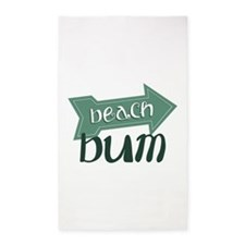 Beach Bum 3'x5' Area Rug