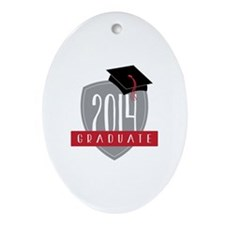 2014 Graduate Ornament (Oval)