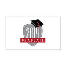 2014 Graduate Car Magnet 20 x 12
