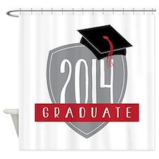 2014 Graduate Shower Curtain