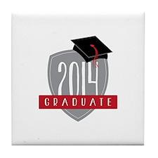 2014 Graduate Tile Coaster