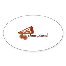 Cheer Champions Decal