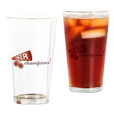 Cheer Champions Drinking Glass