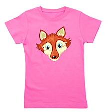 A head of a fox Girl's Tee