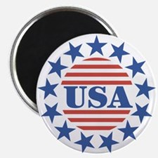 "USA Fourth of July 2.25"" Magnet (100 pack)"