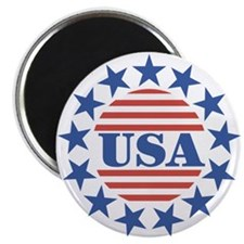 "USA Fourth of July 2.25"" Magnet (10 pack)"