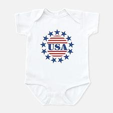 USA Fourth of July Infant Bodysuit