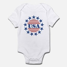 USA Fourth of July Onesie