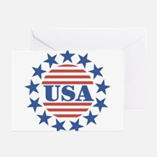 USA Fourth of July Greeting Cards (Pk of 10)