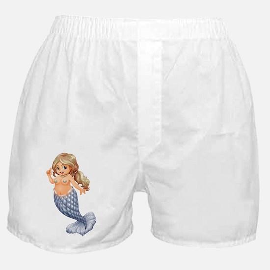 A smiling mermaid Boxer Shorts
