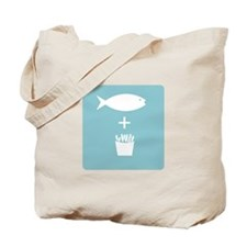 Fish And Fires Tote Bag