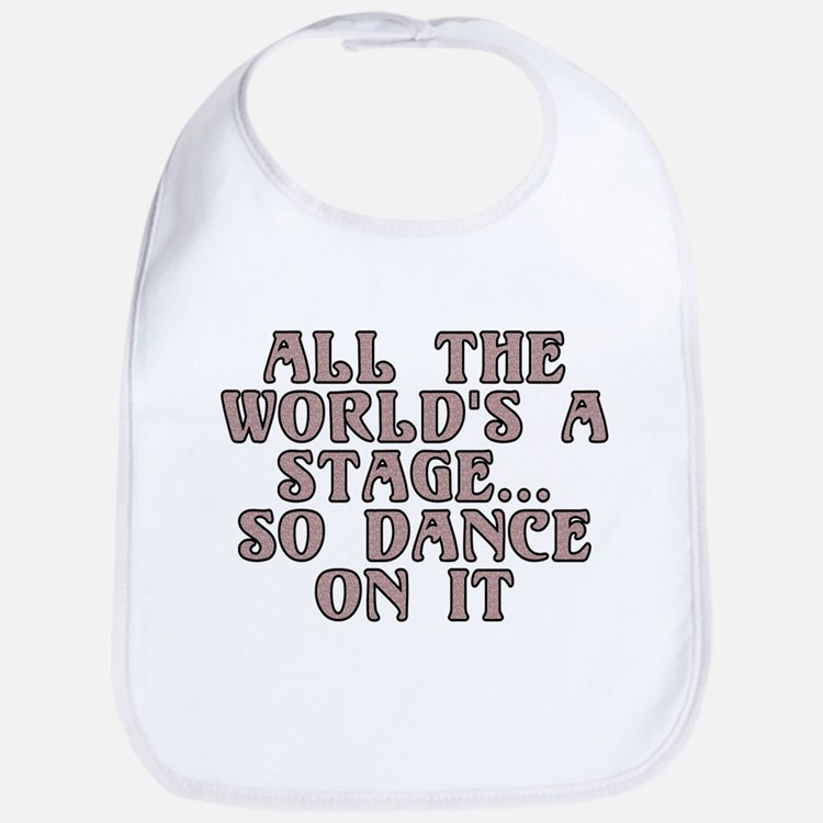 All the world's a stage - Bib