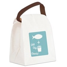 Chip Cheerio Canvas Lunch Bag