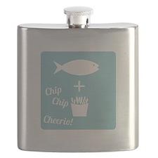 Chip Cheerio Flask