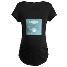 Chip Cheerio Maternity T-Shirt